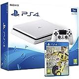 PS4 Slim 1Tb Blanca Playstation 4 Consola - Pack FIFA 17
