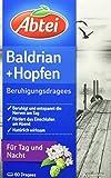 Abtei Baldrian Hopfen Beruhigungsdragees, 60 Stück, 1 er Pack (1 x 60  g)