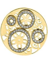 MY iMenso imaginación insignia oro chapado en plata con circonita 33 mm 33-0255