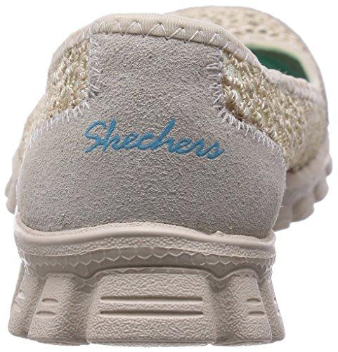 Skechers - Ez Flex 2sweetpea, Ballerine Donna Beige (Beige (NAT))