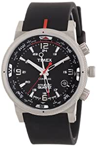 Timex Men's Expedition E-Compass Watch T49817SU With Black Resin Strap