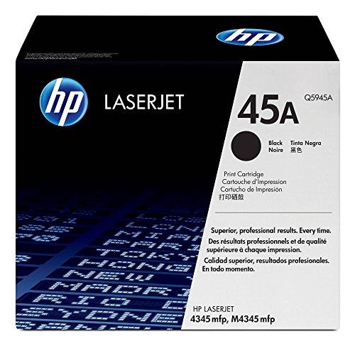Hp Q5945a Toner Kompatibel (HP 45A Schwarz Original LaserJet Tonerkartusche)