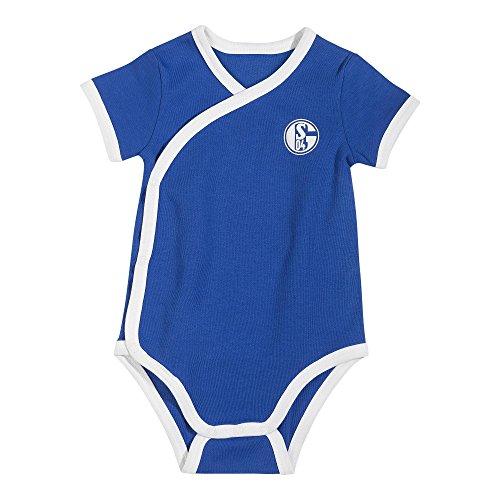 FC Schalke 04 Logo Baby Body (68, Blau)