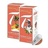 Original Special T - Rooibos Collection - 20 Kapseln für Nestlé Tee Maschinen - hier bestellen - Sorten / Sortiment / Mix: Rooibos Bourbon Vanilla und Rooibos Orange