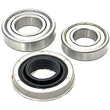 Spares2go cartucho de rodamiento de tambor retén de aceite kit para General Electric lavadora (6206z & 6207RS–35mm)