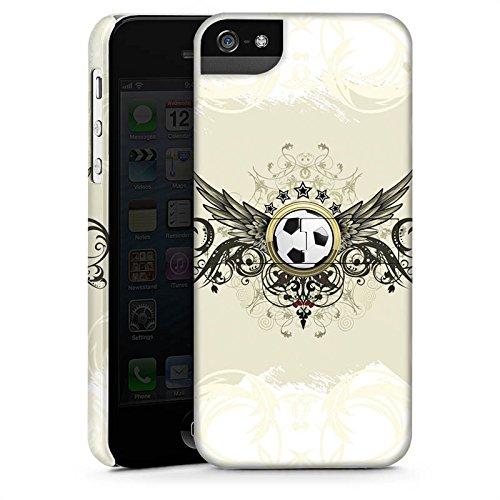 Apple iPhone 6 Plus Silikon Hülle Case Schutzhülle fussball fußball sport Premium Case StandUp