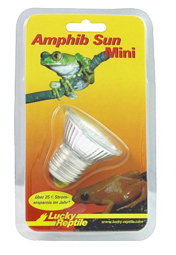 Lucky Reptile AS-1 Amphib Sun klein, 20 LED, Tageslichtstrahler für E27 Fassung