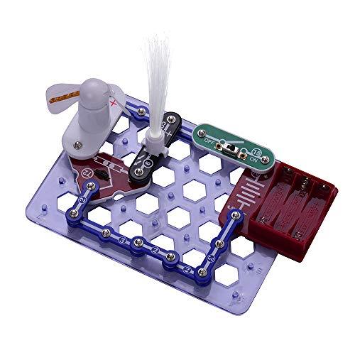 Aibecy Elektronik Exploration DIY Kit Schaltungen Lernen Bausteine Spielzeug für Kinder Kinder Studenten Wissenschaftliches Experiment Pädagogisches Geschenk