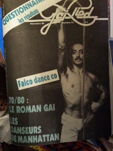 Revue le Gai pied n° 21 décembre 1980 Falco danse co le roman gai les danseurs de manhattan par Revue gai pied