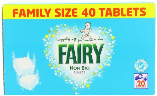 Fairy Non Bio Tablets 40\'S