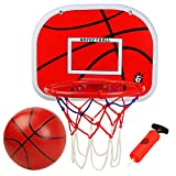Tydow Basketballkorb Mini Basketball Sport Outdoor Indoor Spielzeug Ball Set für Kinder