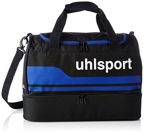 uhlsport Basic Line Spielertasche, Schwarz/Royal, S, 100424502