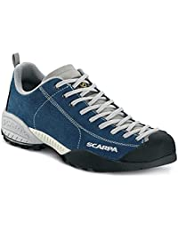 SCARPA MOJITO MEN BEIGE VIBRAM FOR FREE TIME TREKKING BLUE