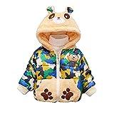 cinnamou Unisex Baby Fleece Pullover Teddybär
