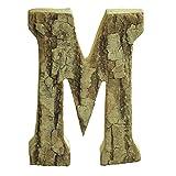 Gossipboy - Decoraciones-Letras y números adhesivos de madera para decorar la pared-Color Beige-Ideal para Bodas-escenas cotidianas-tamaño grande-diseño vintage-para decoración de restaurante-casa-gua