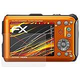 atFoliX Folie für Panasonic Lumix DMC-FT3 Displayschutzfolie - 3 x FX-Antireflex-HD hochauflösende entspiegelnde Schutzfolie