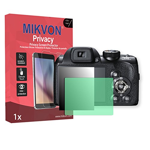 film-de-protection-anti-regards-mikvon-privacy-vert-pour-fujifilm-finepix-s4200-qualite-superieure