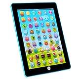 SODIAL(R) Kinder Baby Tablet Pad Computer Lernspiel Bildung Spielzeug Buchstaben Geschenk , Blau