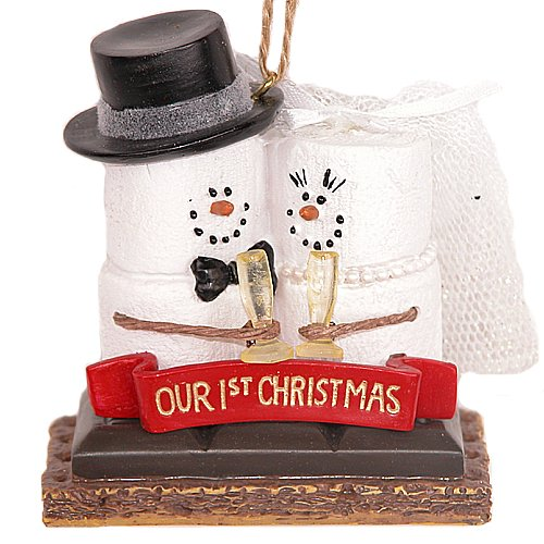 S'mores 'Our 1st Christmas' Resin Christmas Ornament by Midwest-CBK