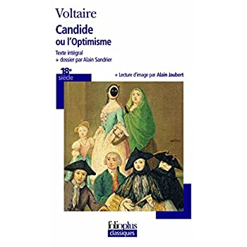 Voltaire Candide/optimisme*p