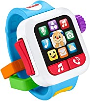 Fisher-Price Laugh & Learn Time to Learn Smartwatch, Musical Baby Toy,