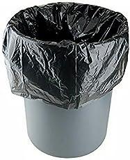 FineX Plastic Garbage Bags (16.8x15.5x5.2cm, Black, Medium Size) - Pack of 3