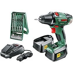 Bosch 0603973504 Perceuse 18 V, Vert