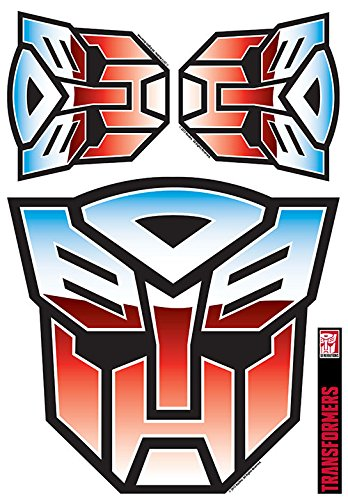 Transformers Autobot Logo Full Color Decal Set