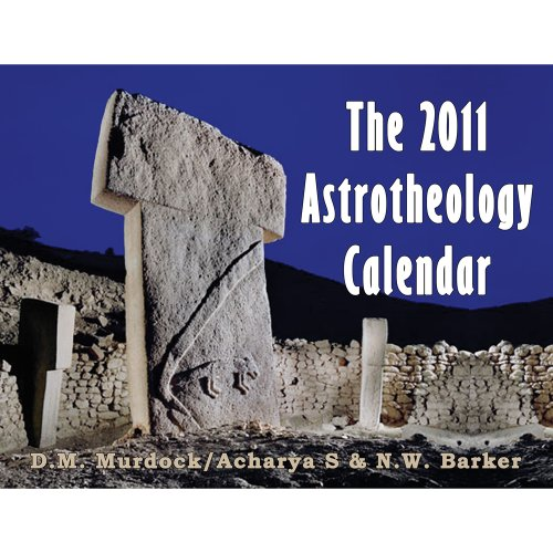 The 2011 Astrotheology Calendar