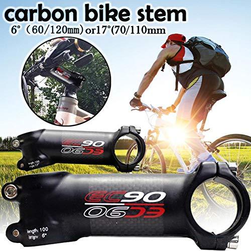 Navigatee Manillar De La Bicicleta Tallo - EC90 Bici del Tallo De La Bicicleta De Fibra De Carbono Tallo...