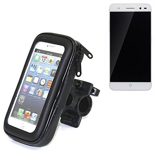 Montaje de la bici para ZTE Blade V7 Lite, montaje del manillar para smartphones / teléfonos móviles, de aplicación universal. Conveniente para la bicicleta, motocicleta, quad, moto, etc. repelente al agua, a prueba de salpicaduras a prueba de lluvia, sostenedor del teléfono móvil de la bicicleta. | Bastidores de bicicletas Bikeholder bicicletas Navi titular titular GPS Pannier ZTE Blade V7 Lite manillar montar la caja al aire libre