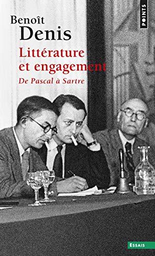 Littérature et engagement par Benoît Denis