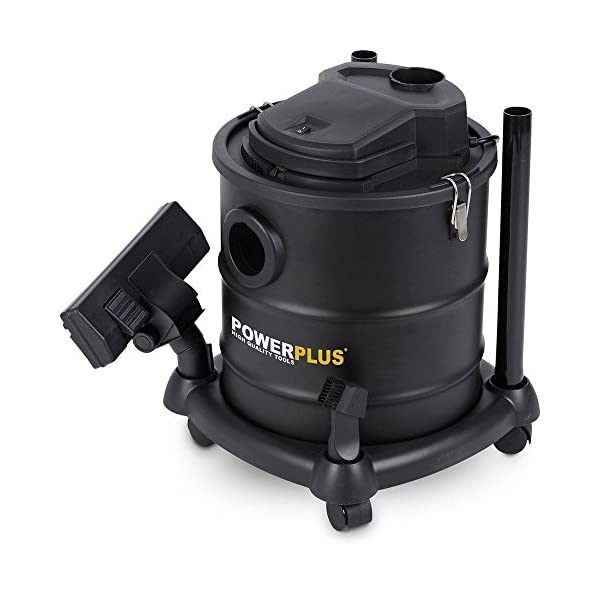 MS-Point–Aspiradora para chimeneas, incluye bolsa de filtración fina, selección de función de soplado