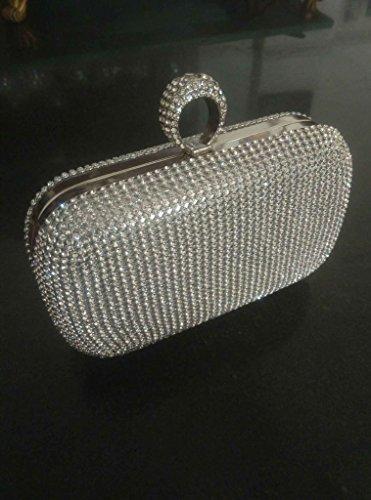 3ea538c2555b7 ... BigForest Imitation Perle Strass Designer Damentasche Tasche Clutches  Handtasche Abendtasche Hochzeit tasche Golden Golden