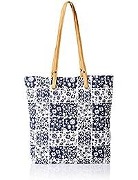 Kanvas Katha Striper Women's Tote Bag (Multi color) (KKSTJUN002)