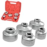 SavingPlus Oil Filter Socket Set Cap Wrench Kit 24 27 32...
