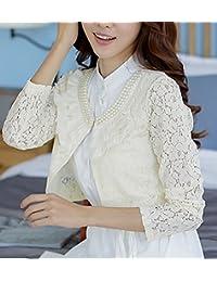 Amazon.it  coprispalle donna elegante - Giacche e cappotti   Donna   Abbigliamento 65742491bf1