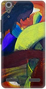 The Racoon Grip Fiery Fear hard plastic printed back case / cover for Lenovo A6000 Plus