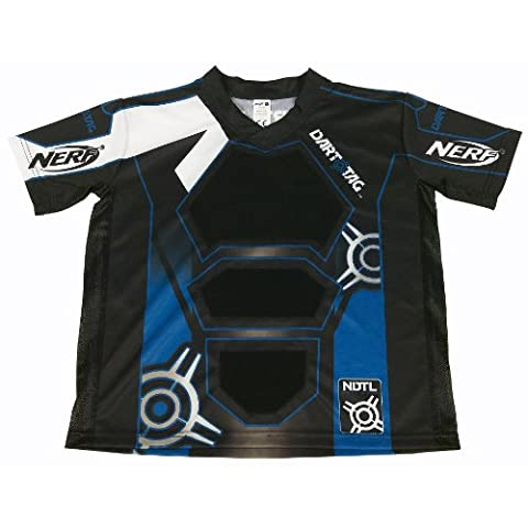 NERF DART TAG Official Competition Jersey - Blue