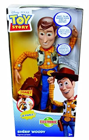Toy Story - T0562 - Figurine - Science Fiction - Grand Woody Parlant Toy Story 3