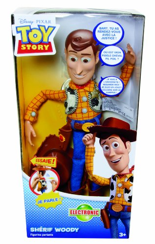 Mattel Toy Story - T0562 - Figurine - Science Fiction - Grand Woody Parlant Toy Story 3