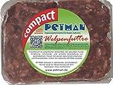 Petman compact Welpenfutter, 22 x 500g-Beutel, Tiefkühlfutter, gesunde, natürliche Ernährung für Hunde, Hundefutter, BARF, B.A.R.F.