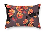 beautifulseason Flower Pillow Covers 18 X 26 Inches/45 by 65 cm Best Choice for Couch Shop Couples Home Theater Her Dance Room with Twice Sides