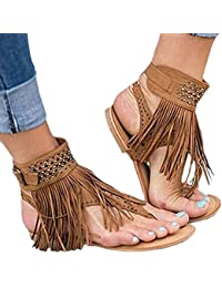 Zapatos Flecos Mujer esSandalias Para Amazon Zapatos BoCdxerW