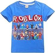 Kids Boys Roblox Fútbol Juegos Family Gaming Team Tops tee