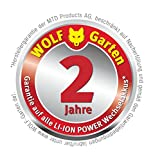 WOLF-Garten Akku-Rasenmäher 72V LI-ION POWER 37 - 11