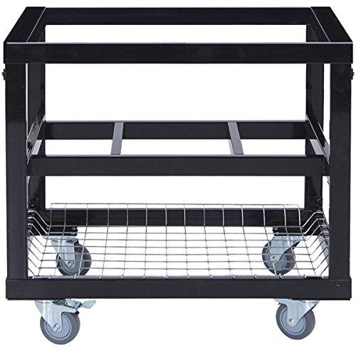 Primo Metall-Rollwagen für OVAL 200 Junior inkl. Korb - Oval Junior Grill
