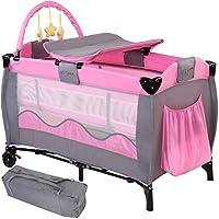 infantastic krb01rosa Reisebett für Kinder, rosa