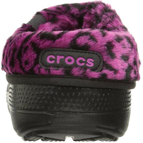 Crocs Blitzen II Graphic Clog, Sabots Mixte Adulte Noir (Black/Berry)