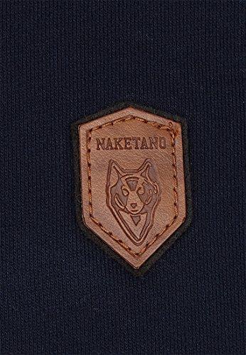 Naketano Male Sweatshirt MC satzbau Dark Blue